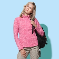 ST5140 | ACTIVE MELANGE FLEECE JACKET